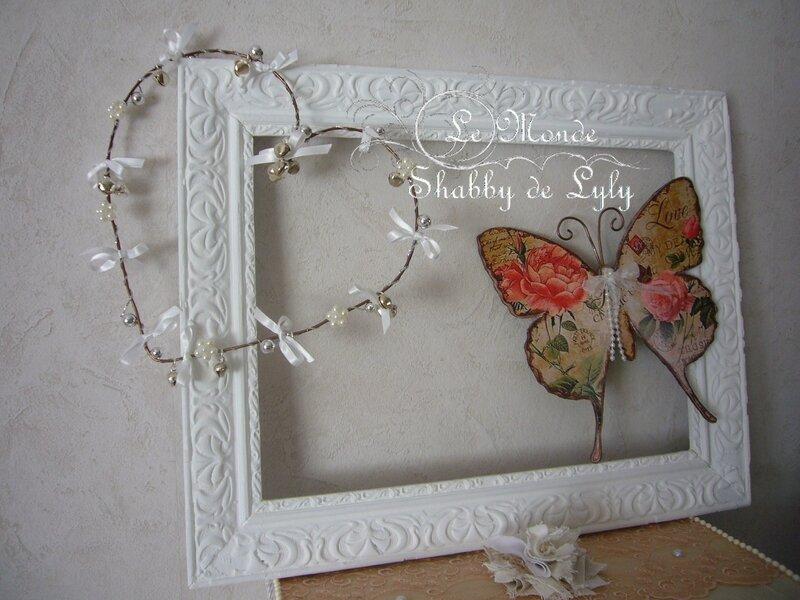 Coeur grelots et Papillon Chic
