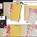Pages du kit juin fée de scrap