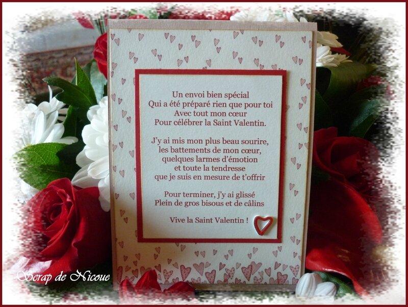 Saint Valentin Texte