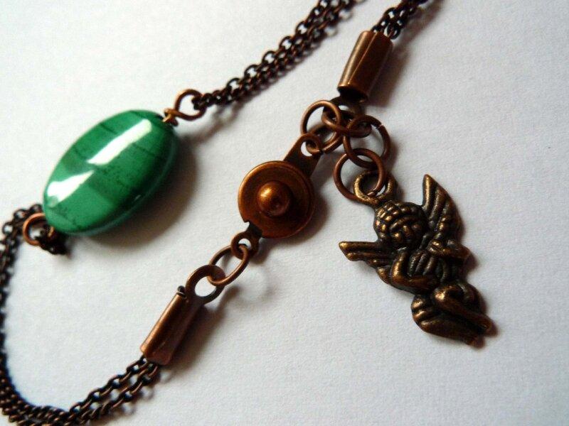Bracelet MALACHITE 33€