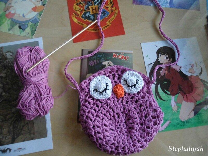 Sac chouette crochet - 16 décembre 2016