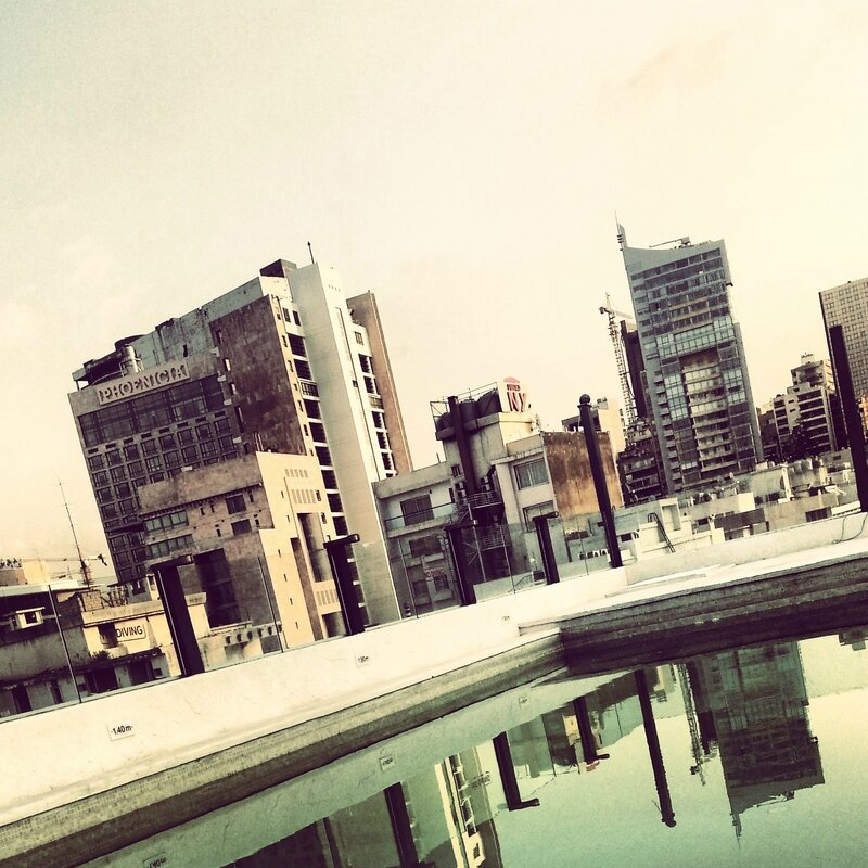 beyrouth hotel toit