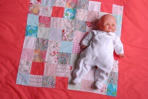 mon patchwork-plaid carré