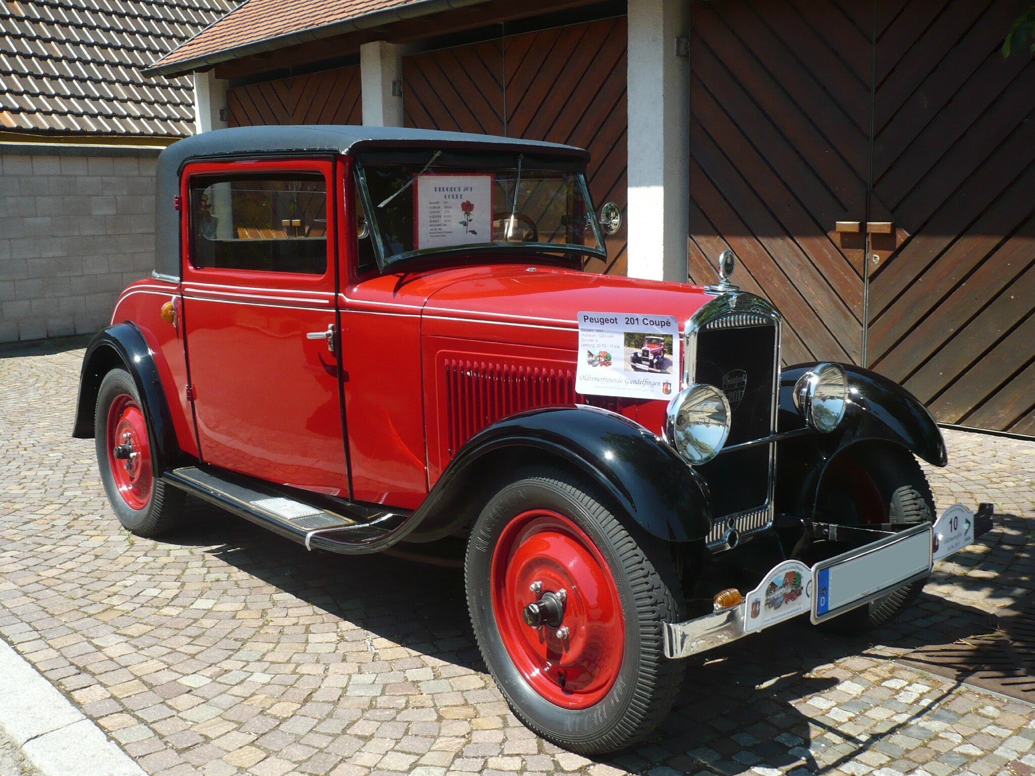 PEUGEOT 201 coupé 1931 Gundelfingen (1)