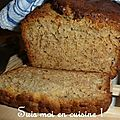 Banana bread (pain à la banane)
