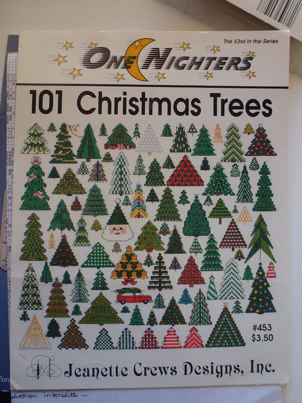 ONE NIGHTERS 101 CHRISTMAS TREES JEANETTE CREWS DESIGNS
