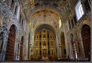 Eglise de Oaxaca - Oaxaca Kirche