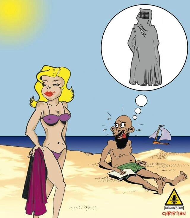 Pour ce qui est du burkini il faut le voir pour ce qu'il est : une stupidité doublé d'une intimidation, et doit être dénoncé.