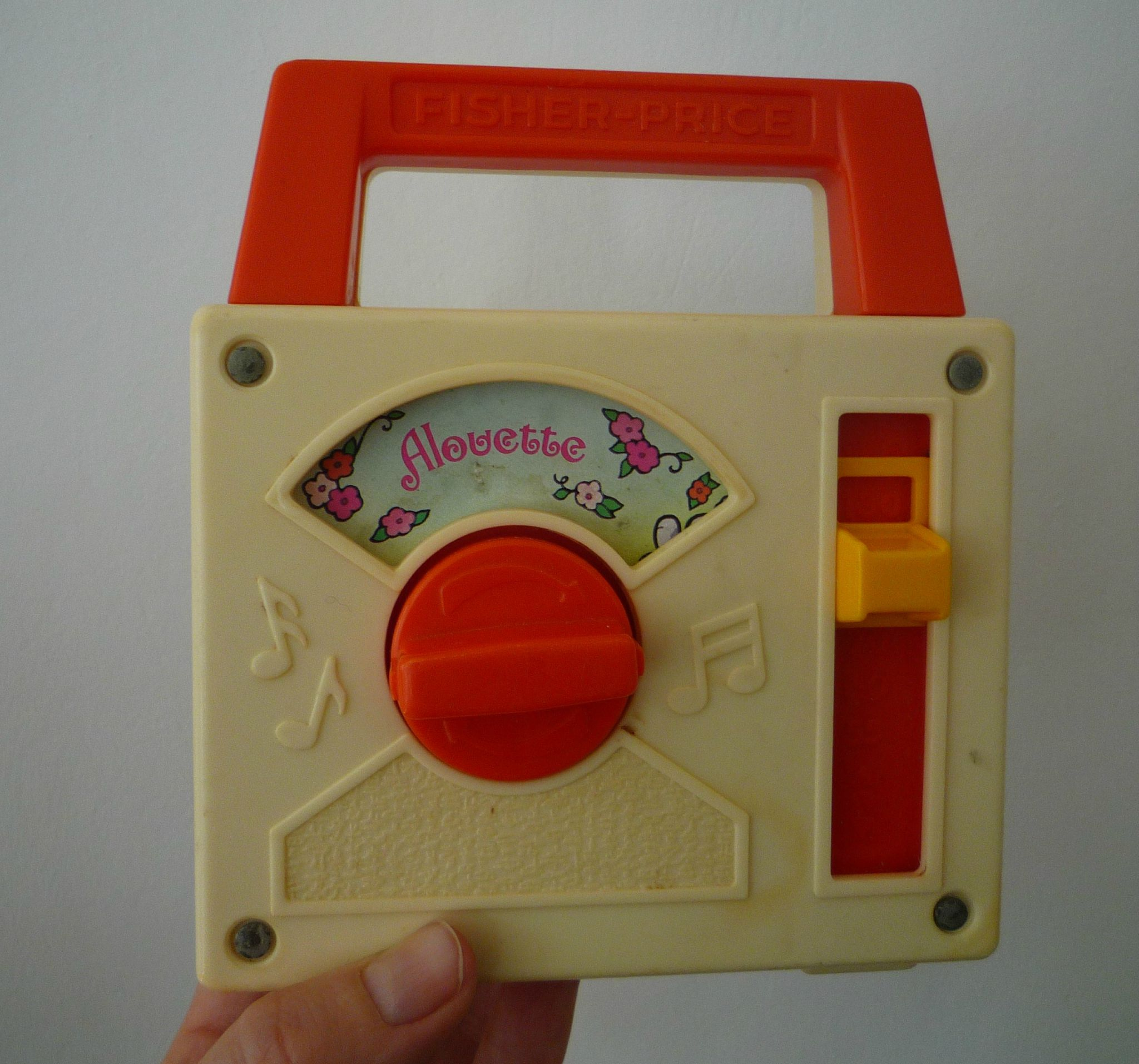 Music Box Fisher Price 1981