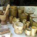 artisanat bambou