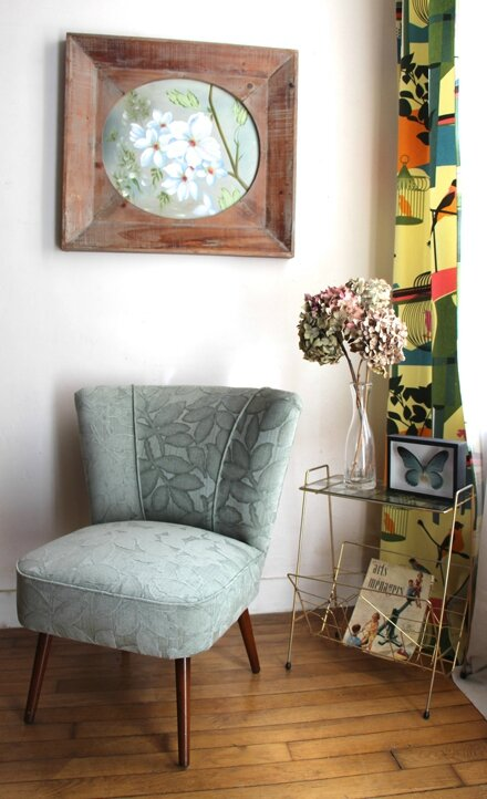 fauteuil-cocktail-annee-50-vert