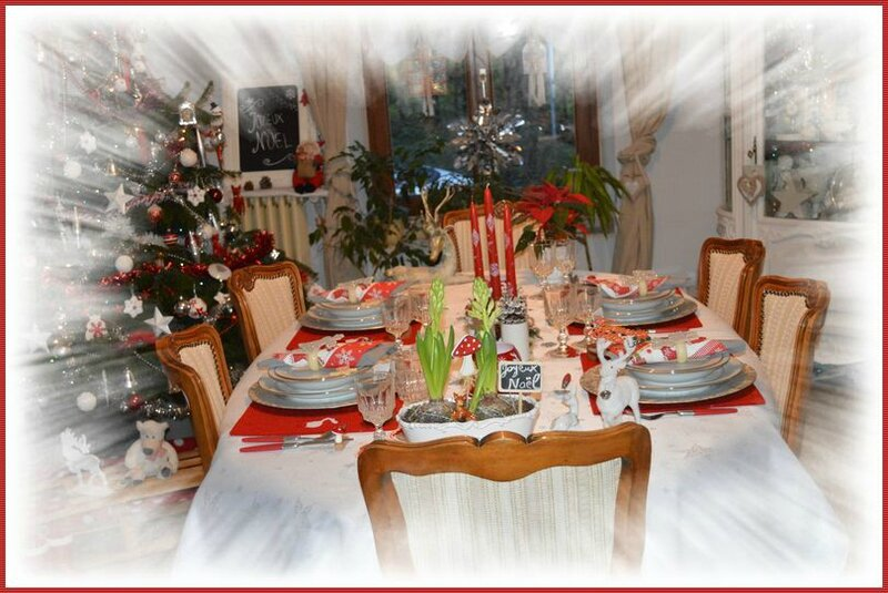 Table de Noël 2015