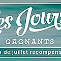 Promotion juillet stampin'up