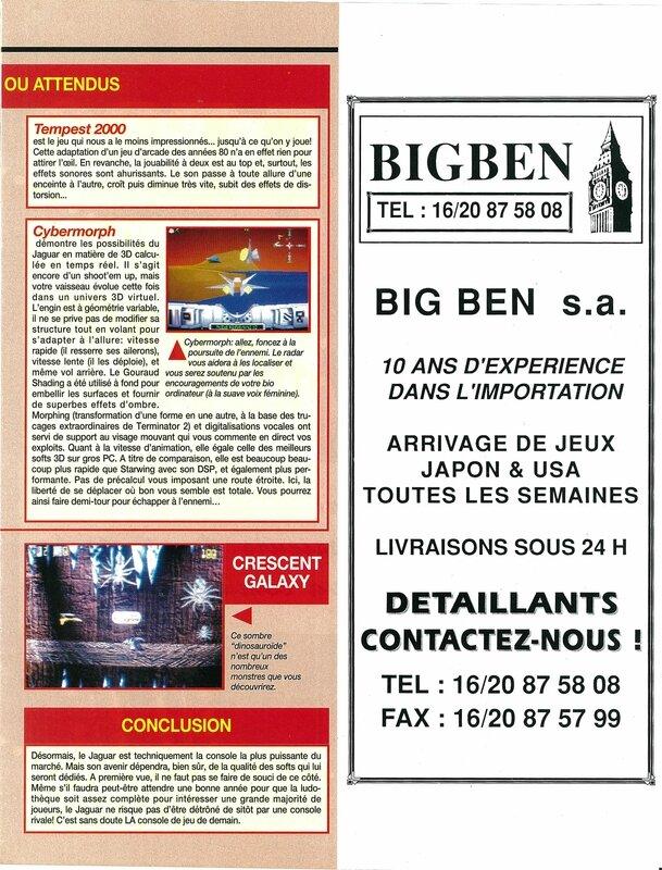 Consoles + 025 - Page 087 (novembre 1993)