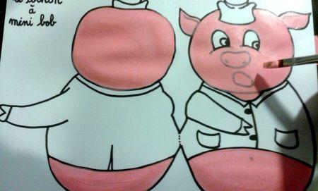 93_Personnages animaux monstres_Les trois petits cochons (16)