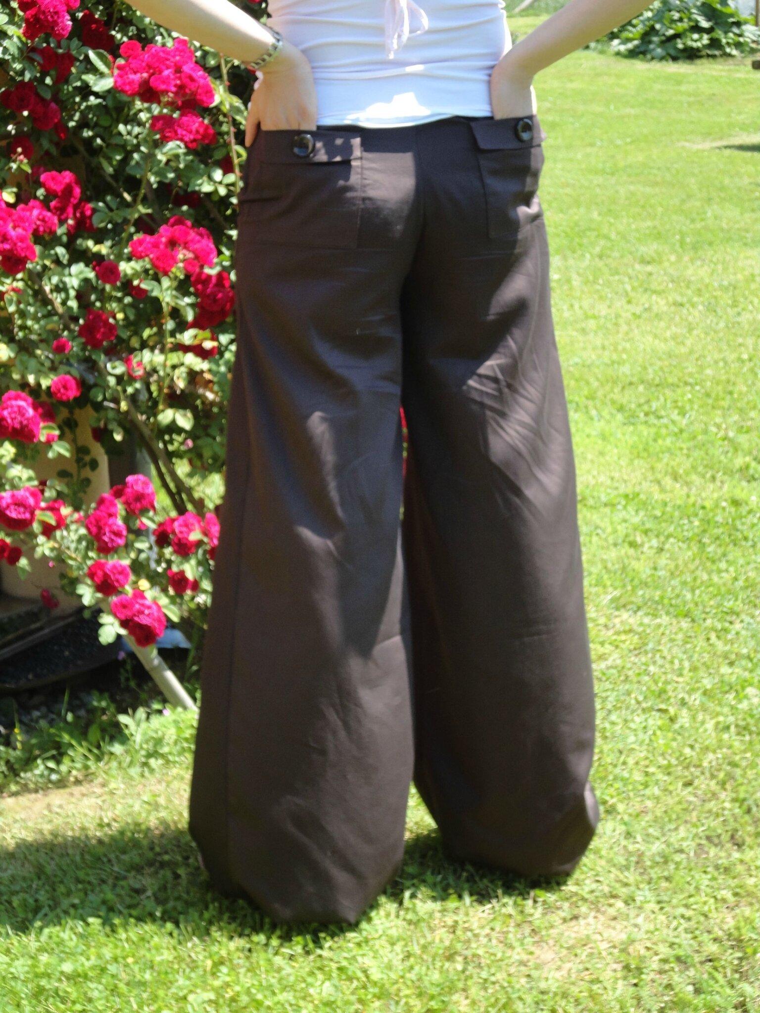 patron couture pantalon boule