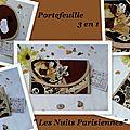 Portefeuille 3 en 1 les nuits parisiennes 2
