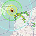 Actu science : seisme de magnitude 4,4 au large de douvres - 22 mai