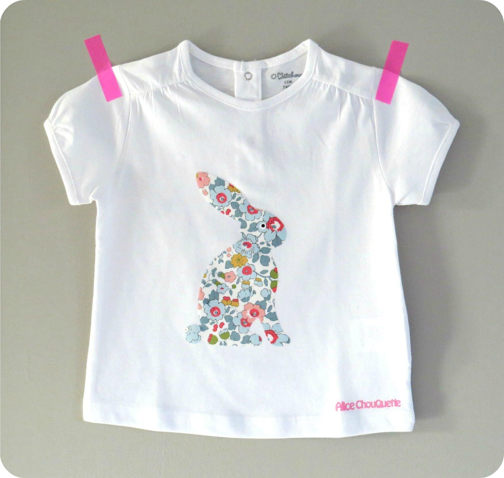 T-shirt Mon Petit lapin