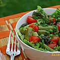 A healthy green salad