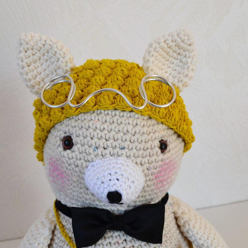 Gedeon; crochet; laine; amigurumi; La chouette bricole (15)