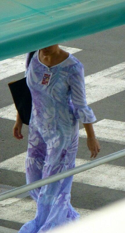 Air Tahiti ground staff