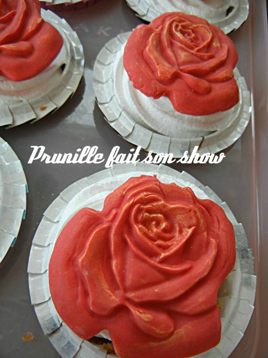 cupcakes chocolat rose prunillefee