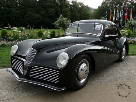 Alfa Romeo 6c 2500 ss bertone 1942 Internationales Oldtimer Meeting Baden Baden 2011 2