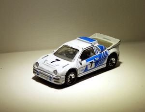 Ford RS 200 de chez Matchbox (1986) 01