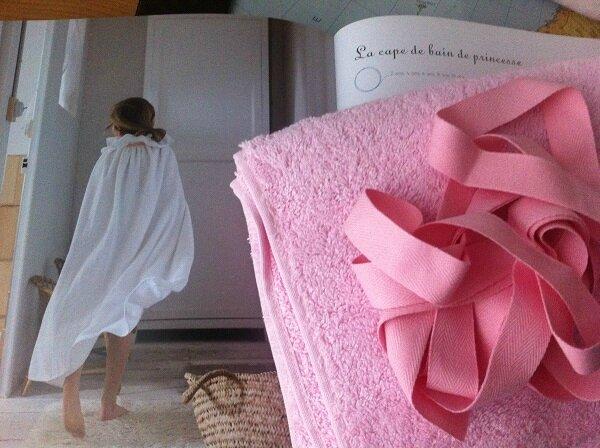 cape de bain de princesse 35