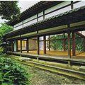 20-Kotohira-gu, paravents de la salle d'étude aux camélias (Tsubaki-shoin),vue d'ensemble, Takubo Kyôji, 2005-08