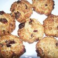 Cookies aux cranberries (canneberges)