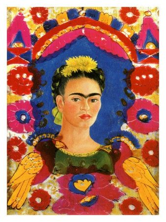 kahlo-frida-self-portrait-with-flowers