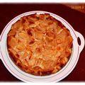 Clafoutis aux pommes et beurre salé