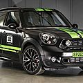 L'édition jcw countryman all4 dakar winner 2013 de mini (cpa)