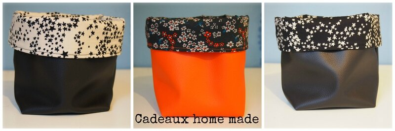 cadeaux home made 2014 lot de 3