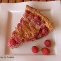 TARTE A LA CAROLINE (AUX FRAMBOISES)