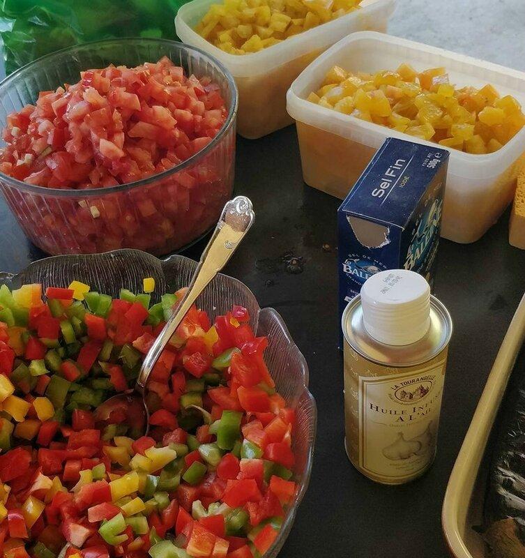 legumes pour recette