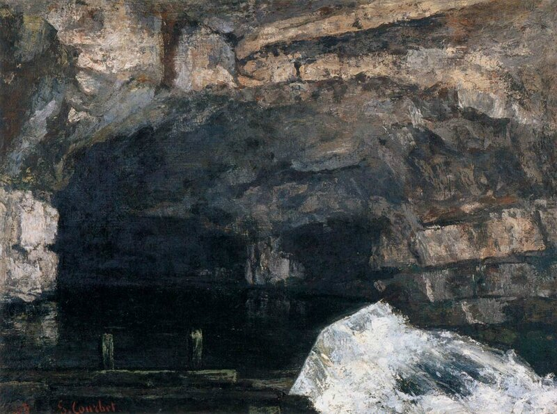 Gustave_Courbet_-_The_Source_of_the_Loue_-_WGA05511