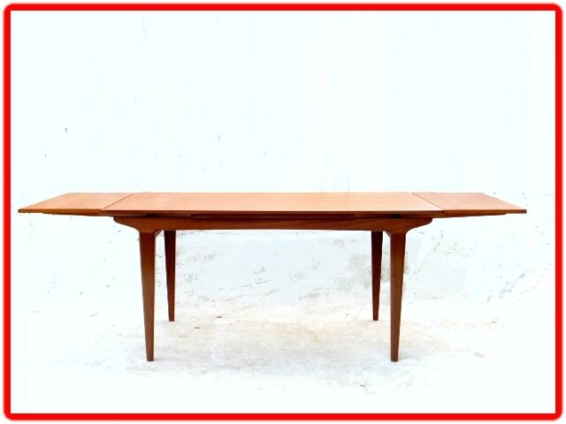 table vintage scandinave teck
