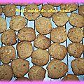 Des cookies chocolat blanc et au lait