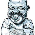Caricature de philippe etchebest pour le journal zepros