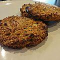 Croquettes de quinoa aux herbes et au curry