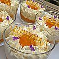 Verrine abricot lavande qui fait kss...kss...