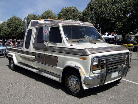 ford e350 centurion 1985, fun car show illzach 2011 1