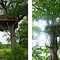 #escapades : les cabanes de la bernardière à st macaire en mauges