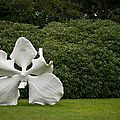 Yorkshire sculpture park presents open-air sculptures by artist marc quinn