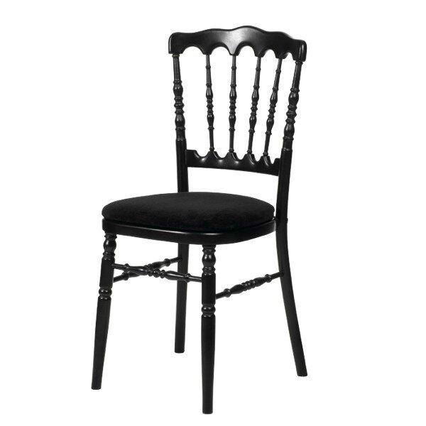 chaise-de-reception-napoleon3 noire