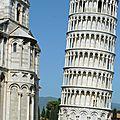 Jour #2 en italie : pise et lucques