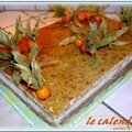 LE CALENDRIER (GATEAU DE L'AN NEUF )